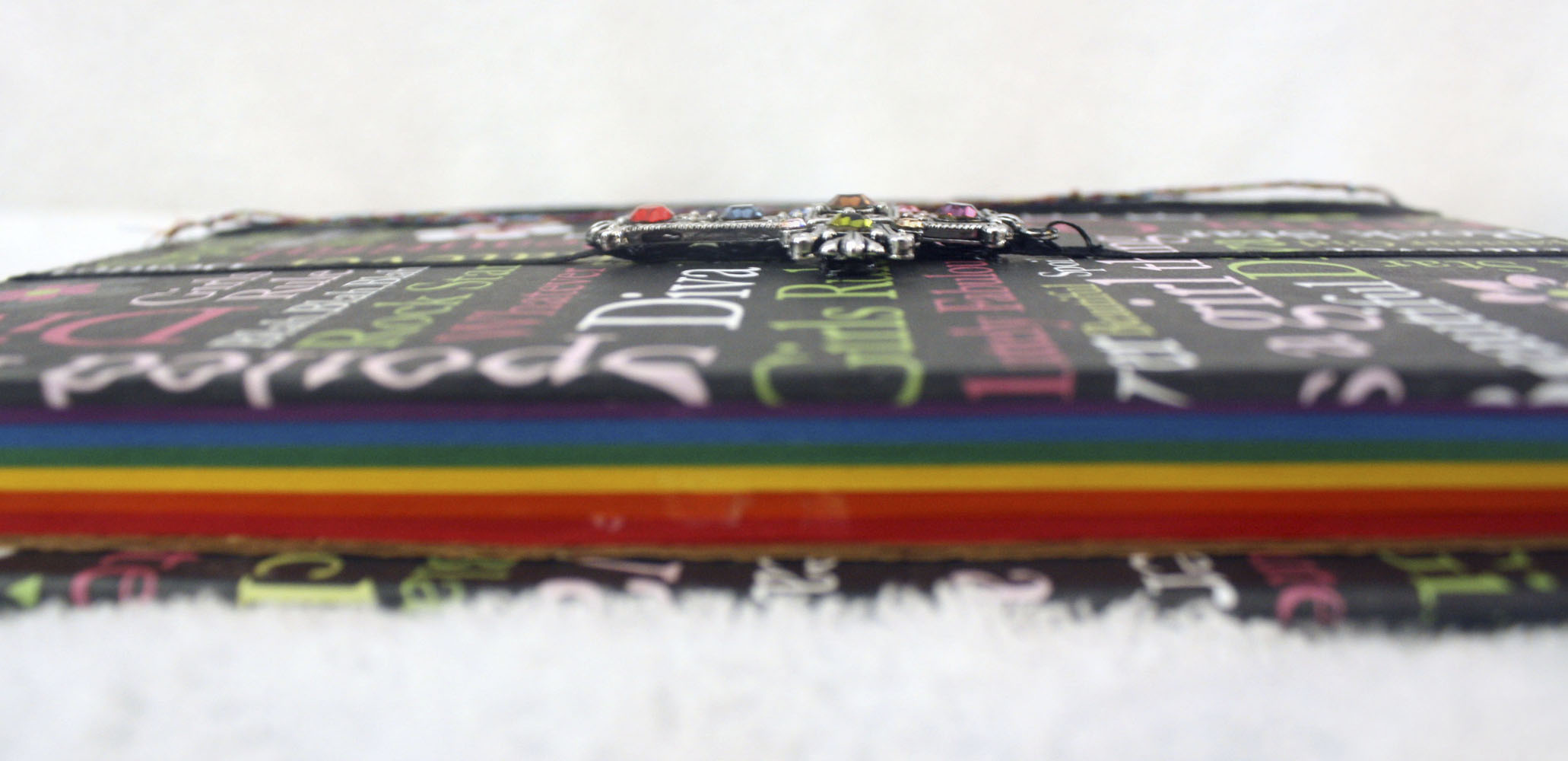 Rainbow Book Side View