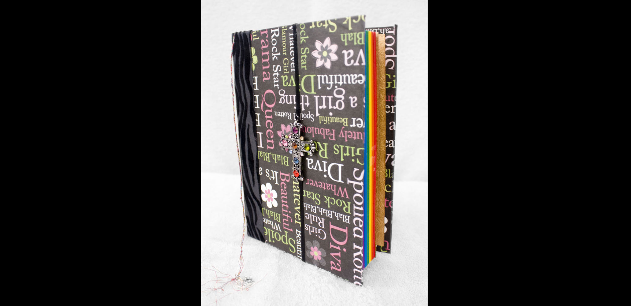 Rainbow Book Front View