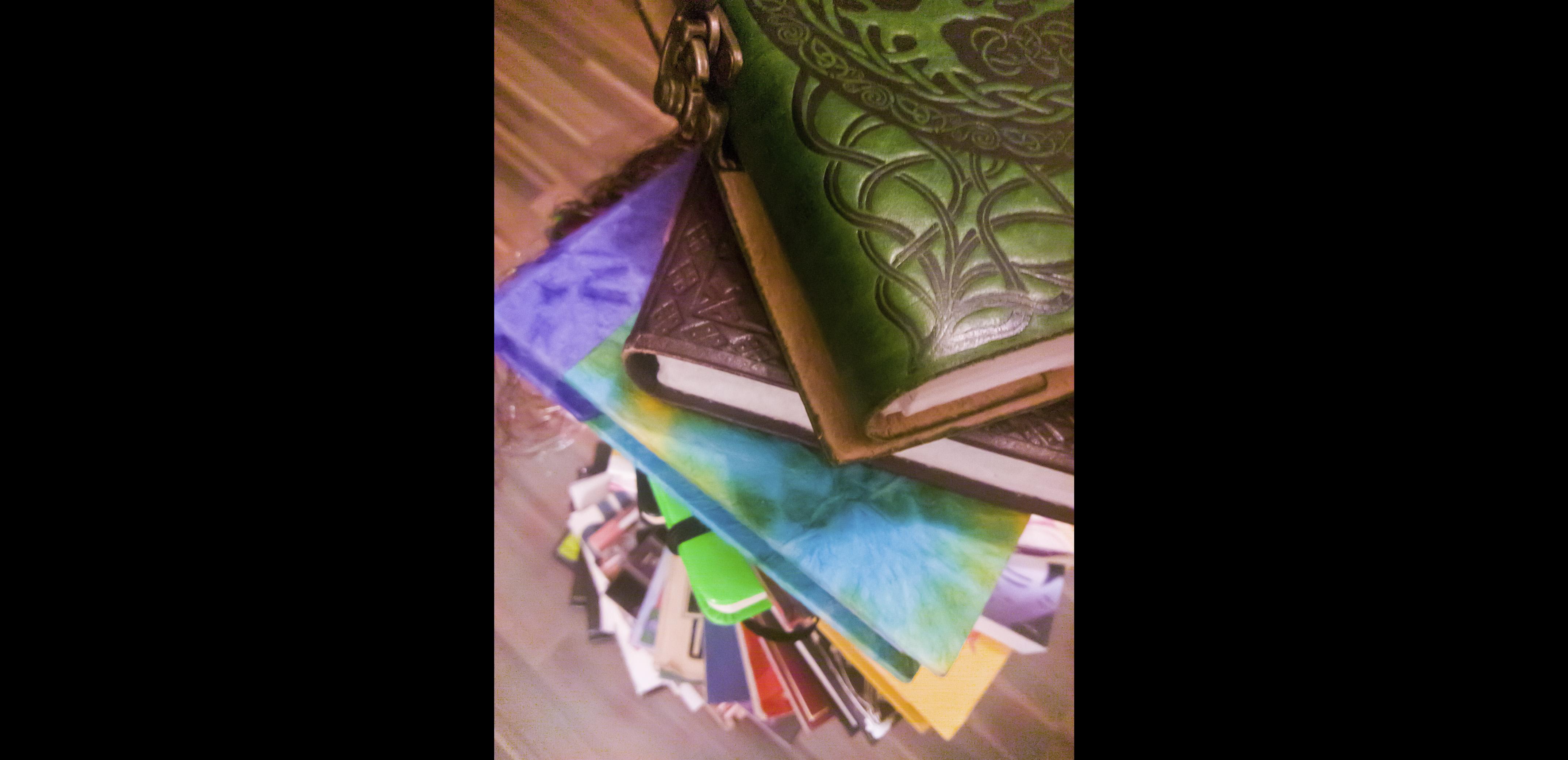 Book Stack Spiral