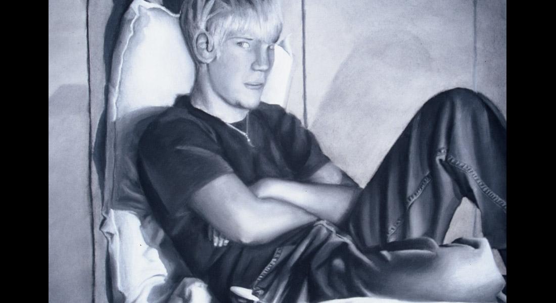 Chalk and Charcoal Portrait