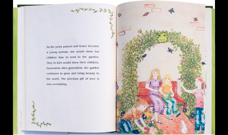 """""""The Little Garden"""" End Pages"""
