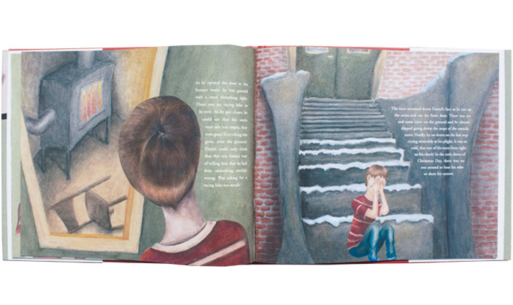 """""""A Hole In My Stocking"""" Inside Pages"""