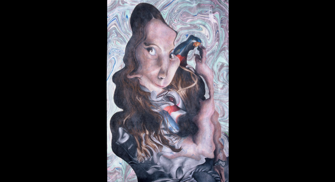Swirl Self Portrait