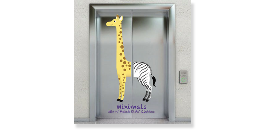 Miximals Elevator Ad