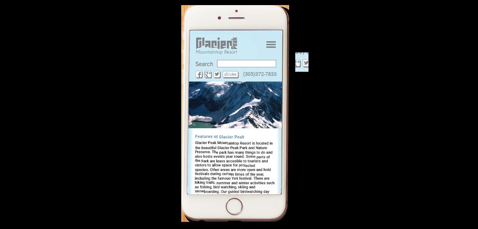 Glacier Peak Mobile