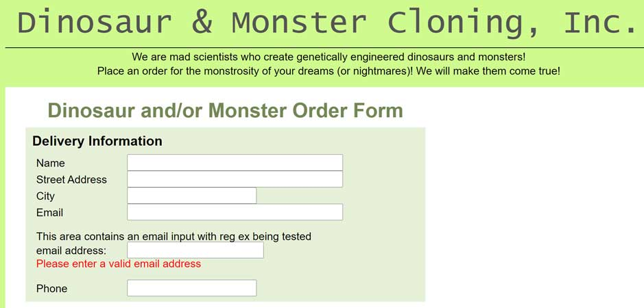 Monster Regex 1