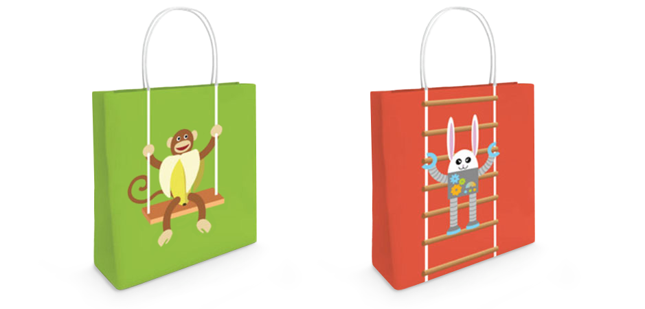 Miximals Shopping Bags